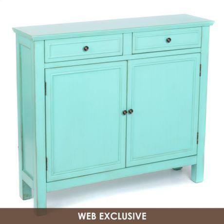 Antique Turquoise Cabinet Kirkland S