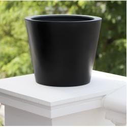 Stonefiber Pot Blumentopf rund amei #holidayappetizers