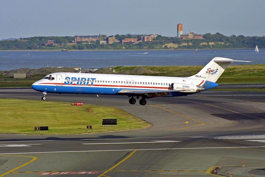 Spirit N130NK DC9 Spirit Airlines Wikipedia Spirit