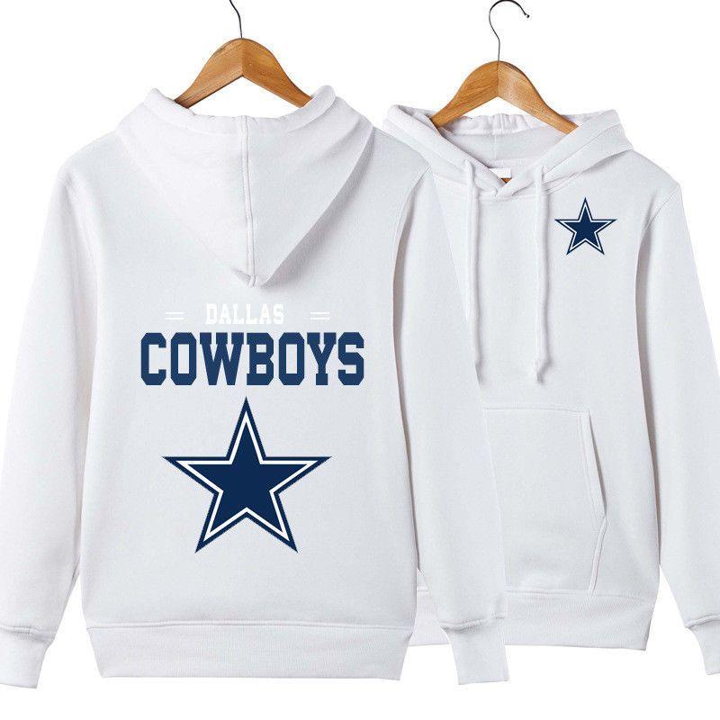 reputable site 69bb3 b4d14 Men's coat Dallas Cowboys Pullover hoodie hooded fleece ...