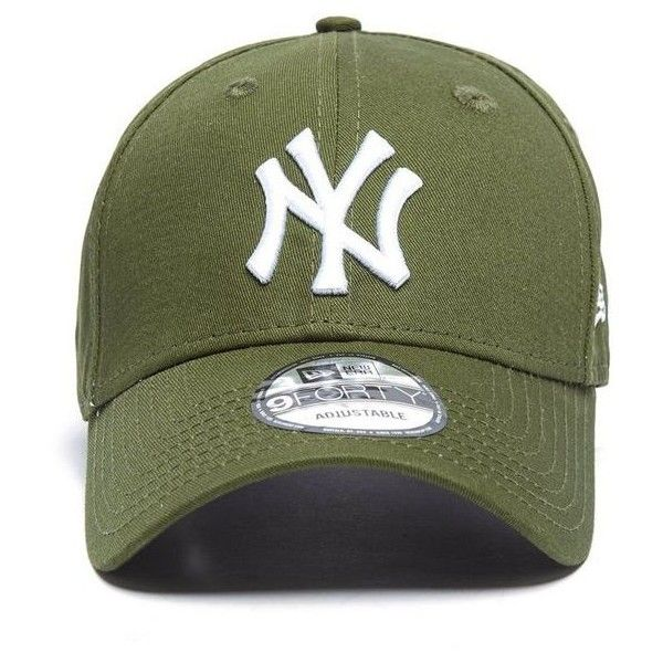 New Era Mlb New York Yankees 9forty Essentials Cap 23 Liked On Polyvore Featuring Accessories Hats Sport Caps Ny Ya Ny Hat Yankees Hat New York Yankees