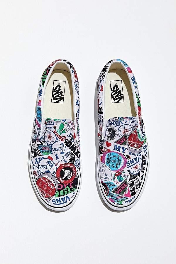 Vans Sticker Mashup Slip-On Sneaker