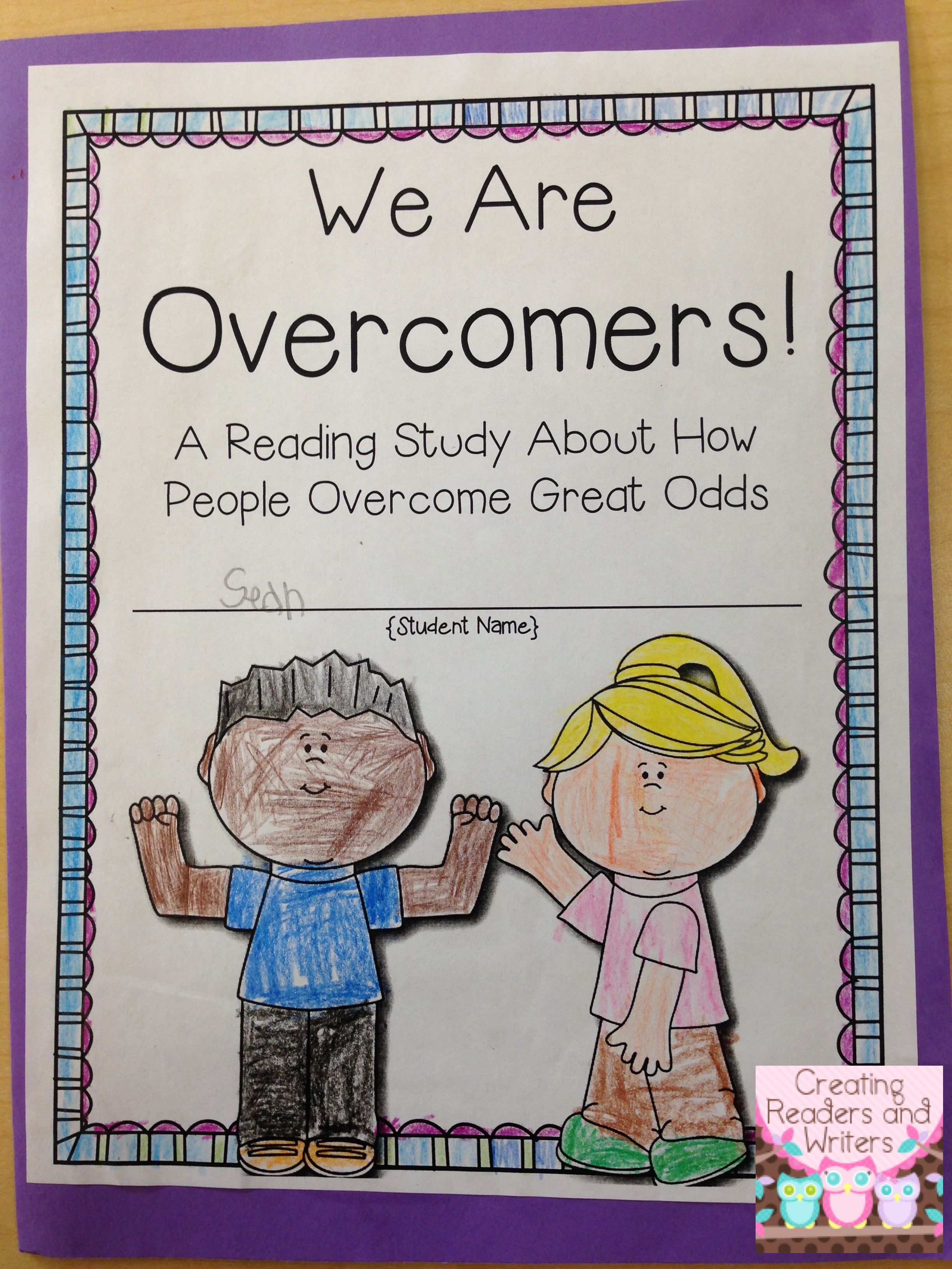 We Are Overcomers A Close Reading Study Celebrating Courageous Characters