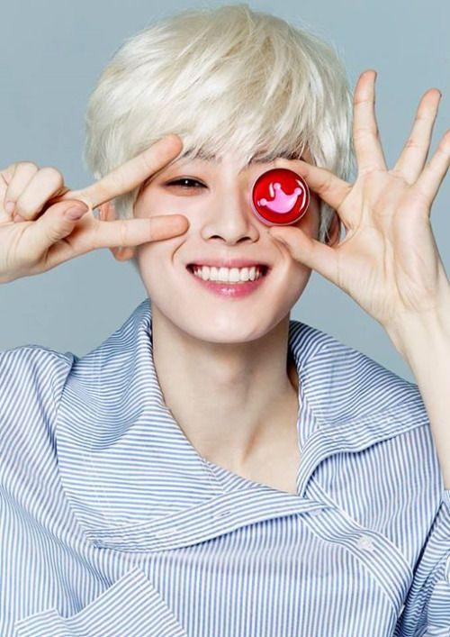 Jinwoo Blond hair O.o