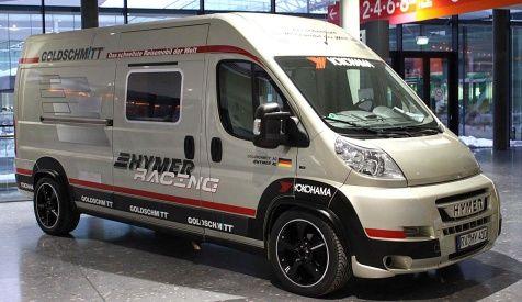 Hymer Reisemobil Yokohama Bringt Geschwindigkeits Weltrekord Ins