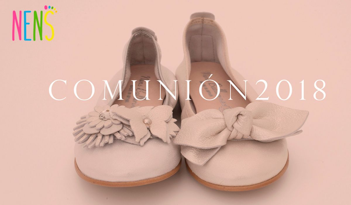 NENS HOLY COMMUNION BALLERINAS 2018 Take a look at the NENS fabulous communion shoes collection. Offering fashion, quality and comfort on the big day!
