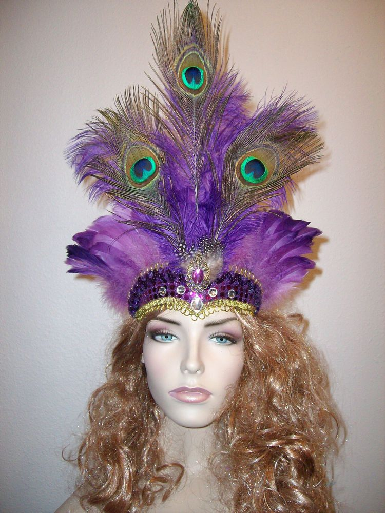 Image result for peacock headdress