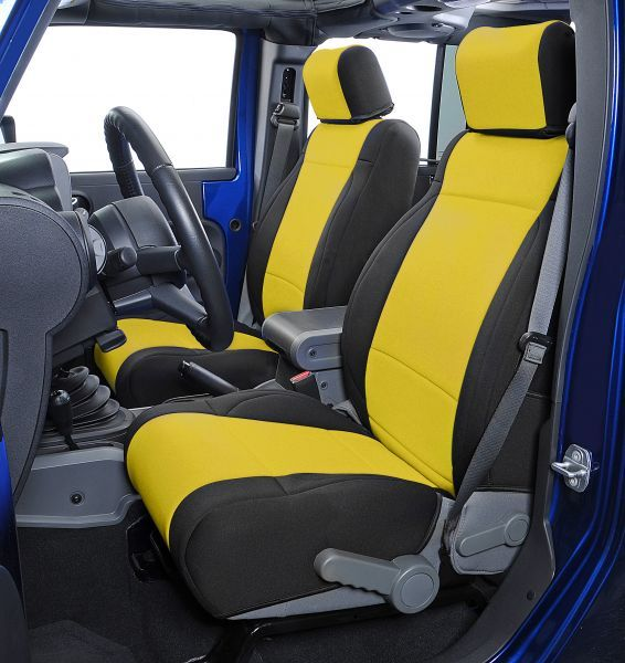 Super Coverking Custom Front Seat Covers For 07 10 Jeep Wrangler Pdpeps Interior Chair Design Pdpepsorg