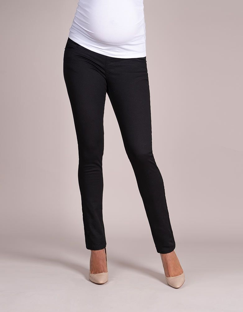 9bfffd0816689 Slim Leg Black Maternity Jeans - Under Bump Band in 2019 | Products ...