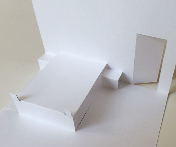 Blank Pop Up House With Images Paper Pop Pop Up Book Pop Up