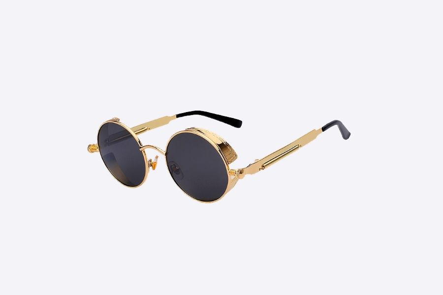 STEAM.   BLANK. SUNGLASSES   Lunettes   Pinterest   Lens, Gold and ... db4c1c42e901