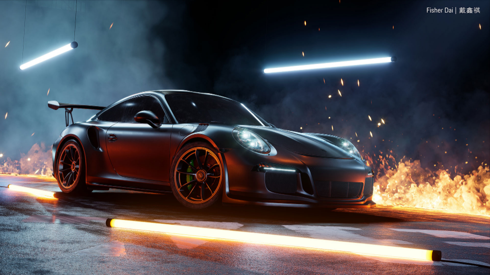 Breathtaking Realtime Renders With Substance Source And Ue4 Substance In 2020 Sports Car Wallpaper Car Wallpapers Porsche 911