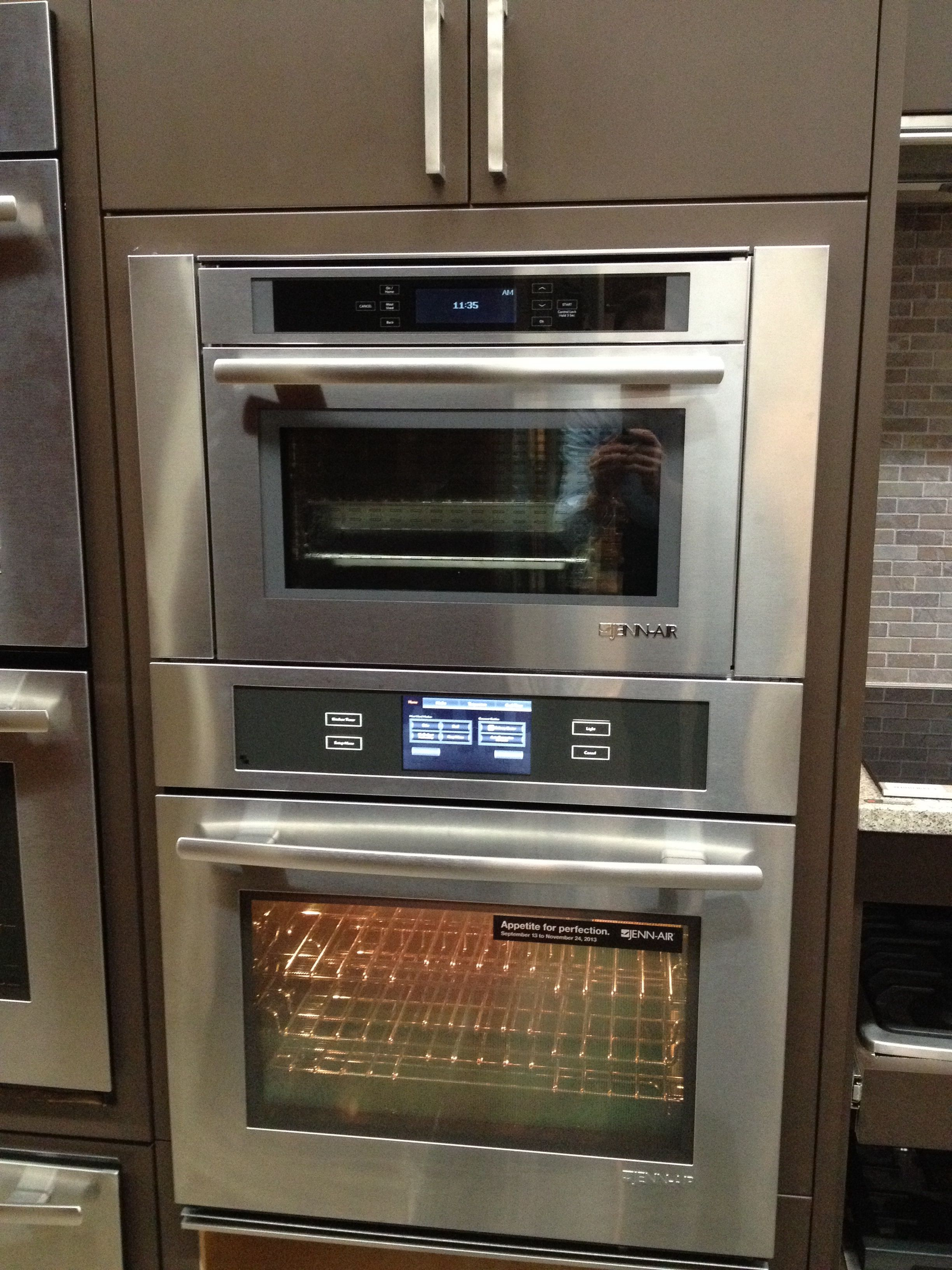 Jenn Air Steam Convection Oven With Matching 30 Jjw3430 Below The Complete Culinary Center