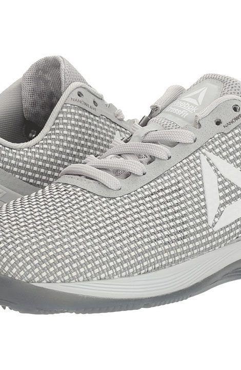 new arrival ec2c9 11cf9 Reebok Crossfit Nano 7.0 (White Skull Grey Black) Women s Cross Training  Shoes