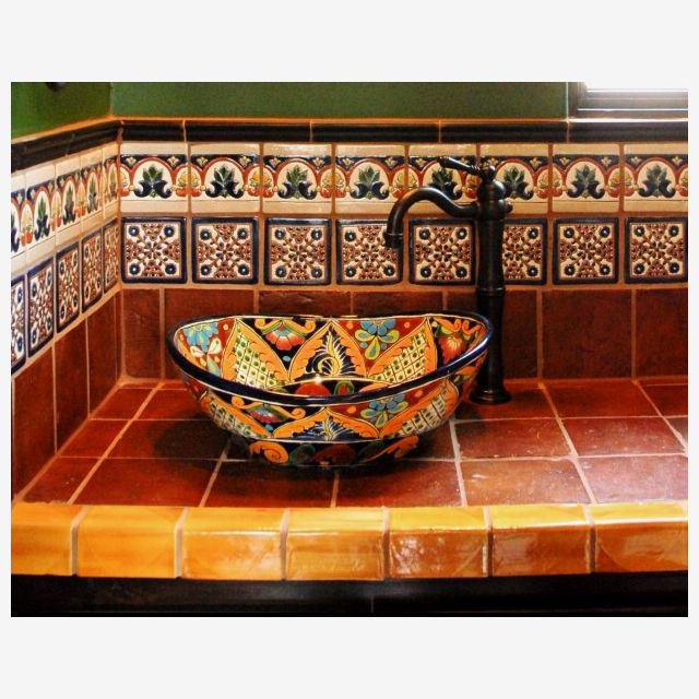 Mexican inspired bathroom   Home Decor   Pinterest   Mexicans ... on spanish designs for small bathrooms, beach inspired bathrooms, mexican home decorations for bathrooms, painted mexican bathrooms, shabby chic bathrooms, spain bathrooms, asian-inspired bathrooms, santa fe style bathrooms, colonial style bathrooms, aztec-inspired bathrooms, mixacan bathrooms, paris inspired bathrooms, mediterranean inspired bathrooms, mexican looking bathrooms, spanish style bathrooms, marble vanity tops for bathrooms, mexican tile bathrooms,