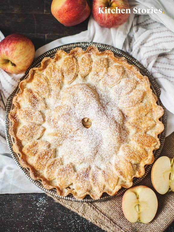 Amerikanischer Apfelkuchen #applepie