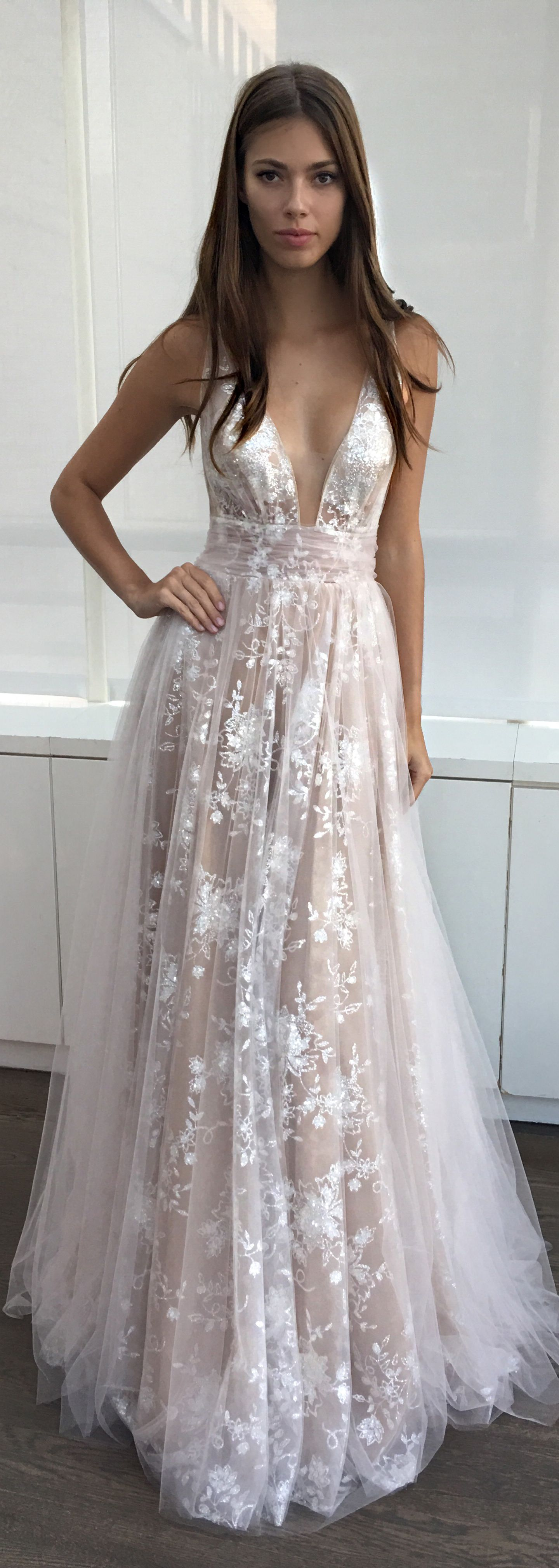 The Fit Of This Bertabridal Is So Feminine And Pretty