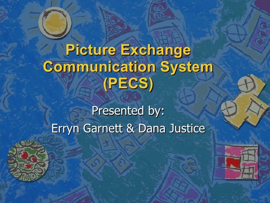 Pecspicture Exchange Communication System By Erryn Garnett