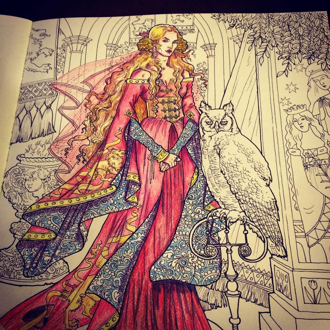 I got a game of thrones coloring book thanks to our best friends ...