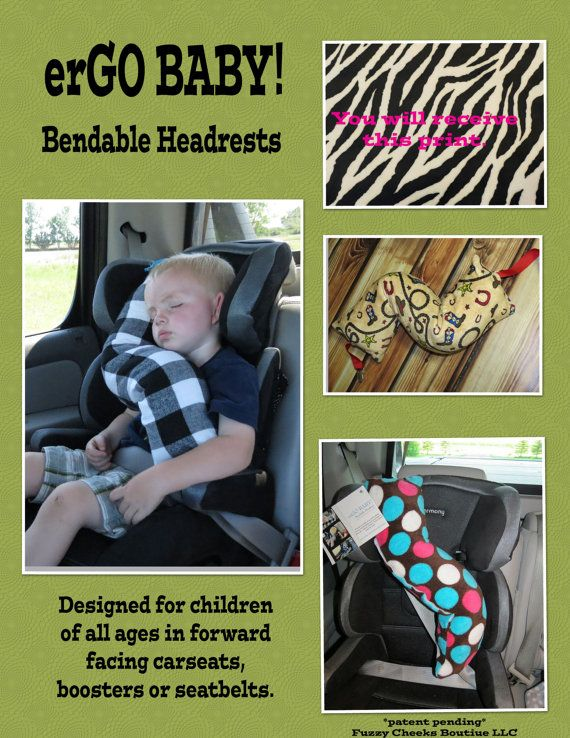 neck support pillow ergo buddy bendable baby toddler. Black Bedroom Furniture Sets. Home Design Ideas