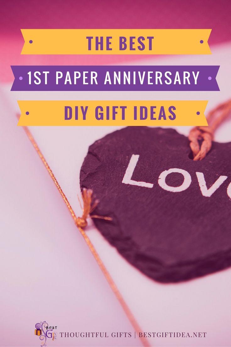First Wedding Anniversary Gift To Make | 1st Wedding Anniversary ...