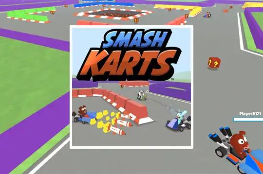 Smash Karts Io Jogos Online Jogo Multiplayer Kart