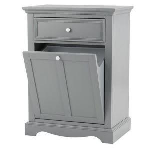 Home Decorators Collection Fremont 24 5 In W Tilt Out Hamper In