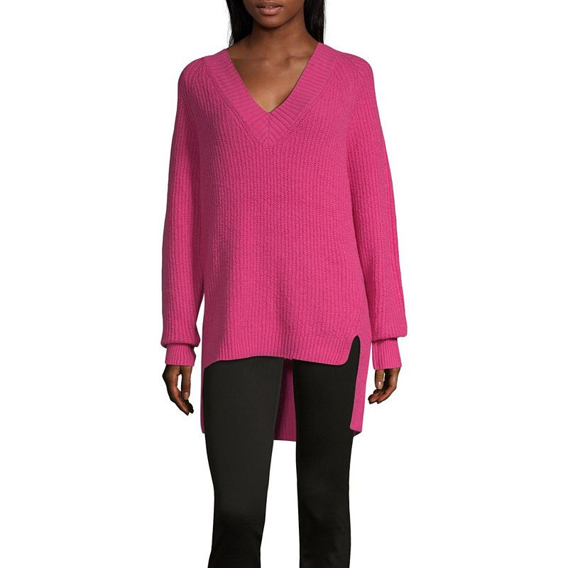 d7bb6f2bef4 a.n.a Womens V Neck Long Sleeve Pullover Sweater | Products ...