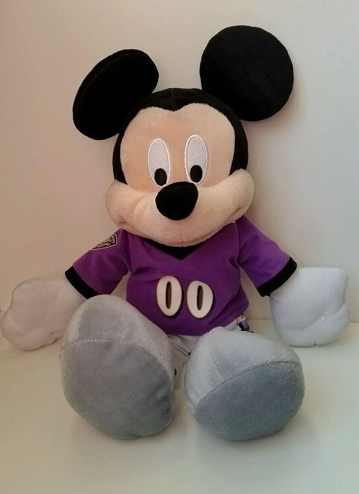 16b0c8d1 Baltimore Ravens NFL, Disney Mickey Mouse Plush Football Jersey ...