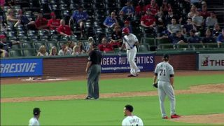 Adrian Beltre Told To Move To On-Deck Circle, Moves On-Deck Circle To Him, Gets Ejected