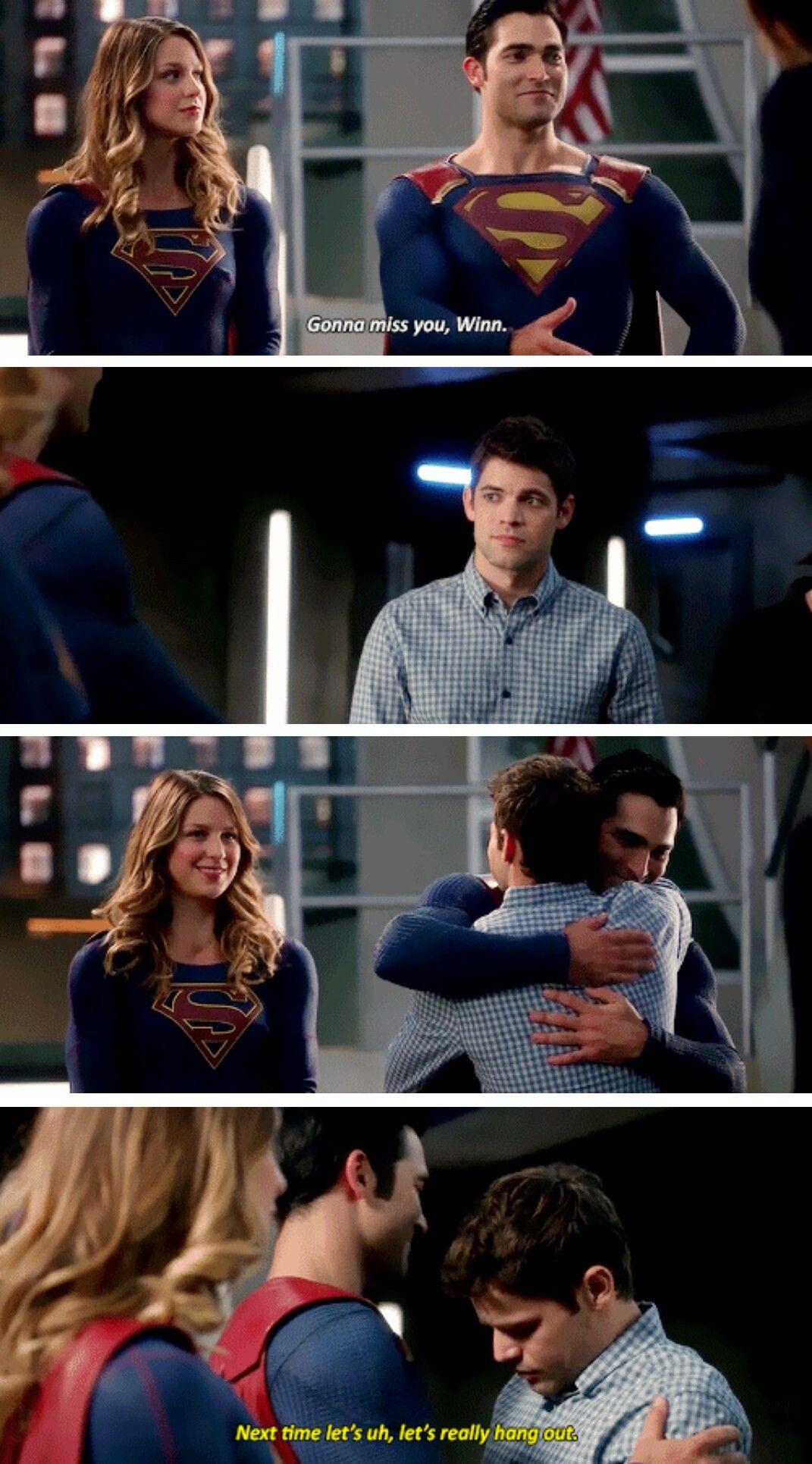 Supergirl, Superman and Winn