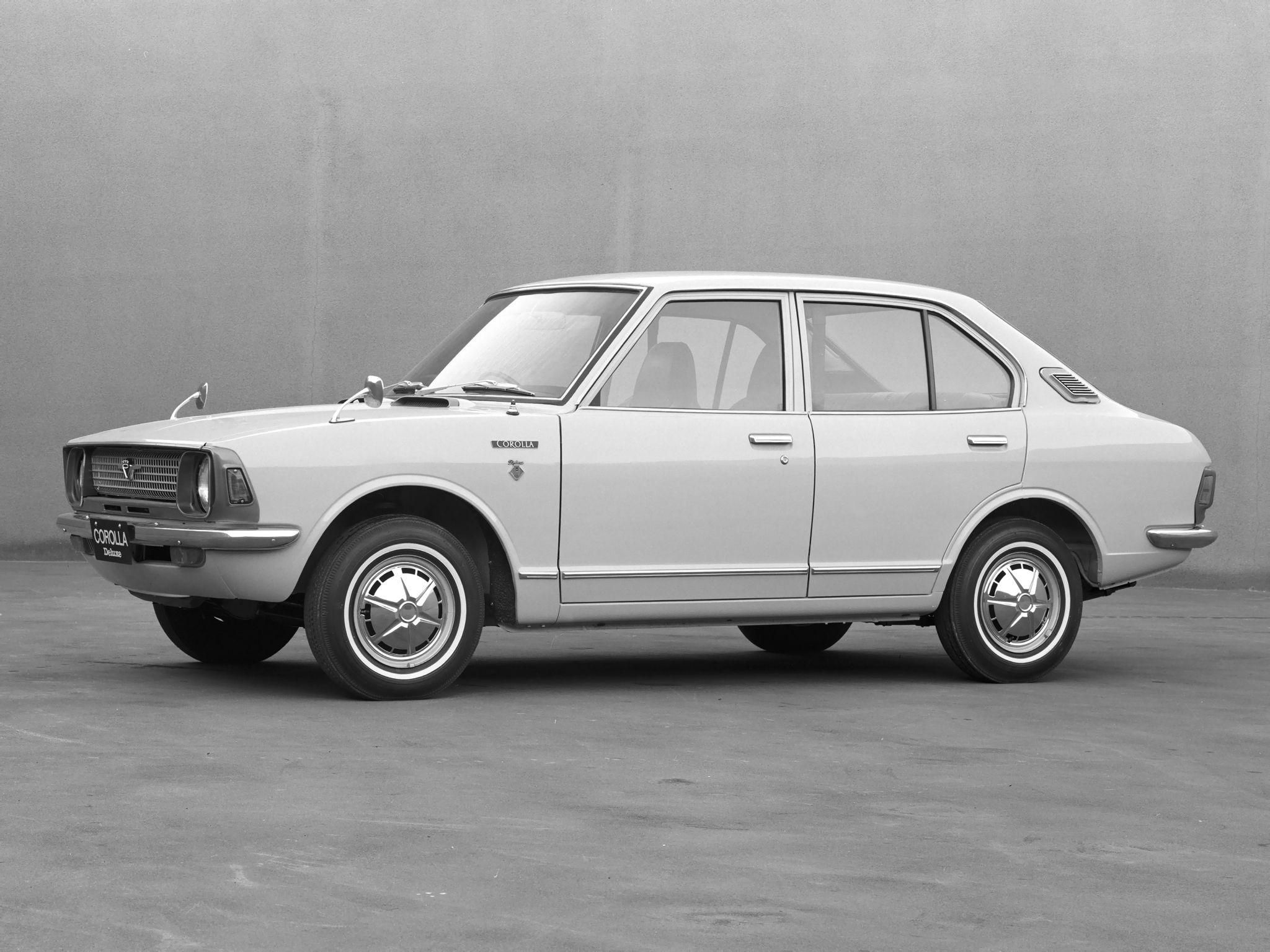 1970 74 toyota corolla 4 door sedan jp spec ke20