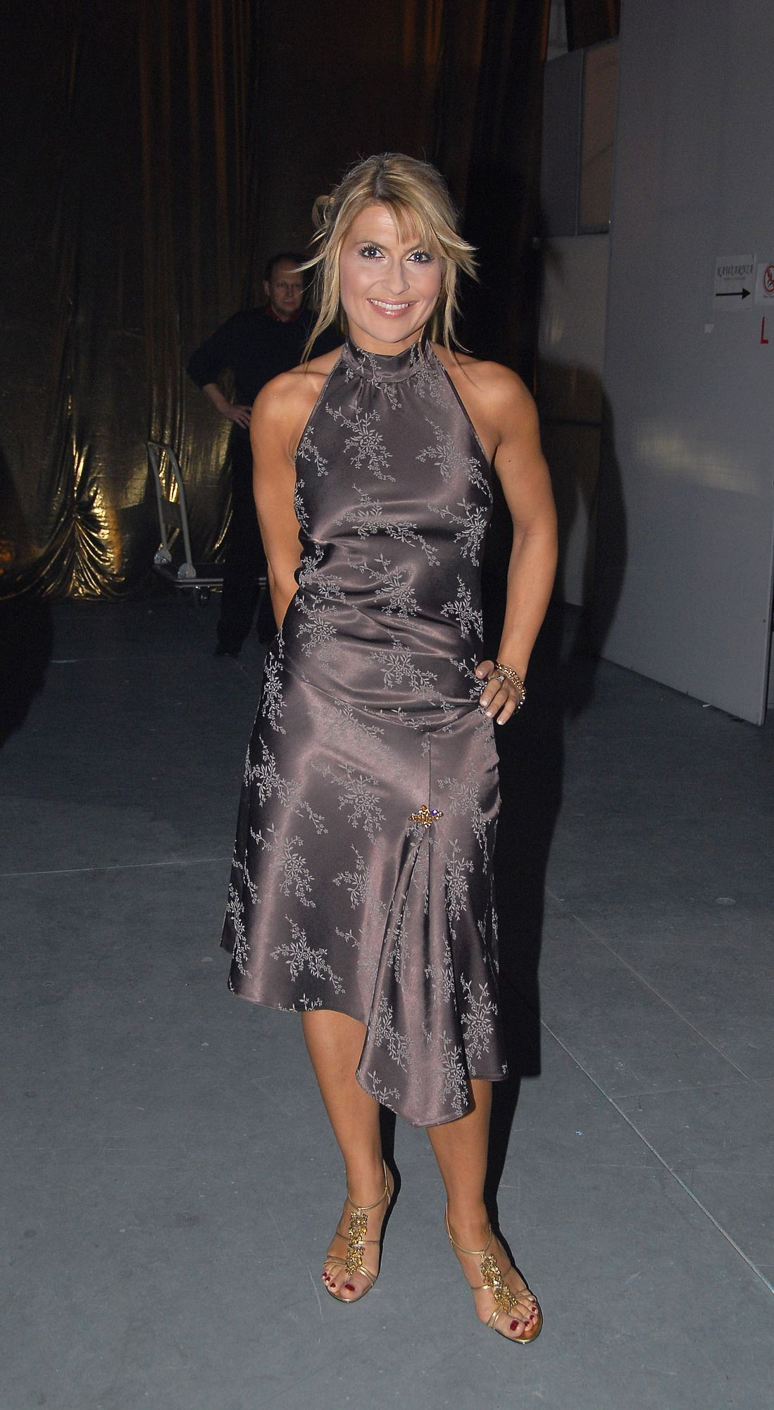 Katarzyna Skrzynecka S Feet Wikifeet Slip Dress Formal Dresses Sleeveless Formal Dress