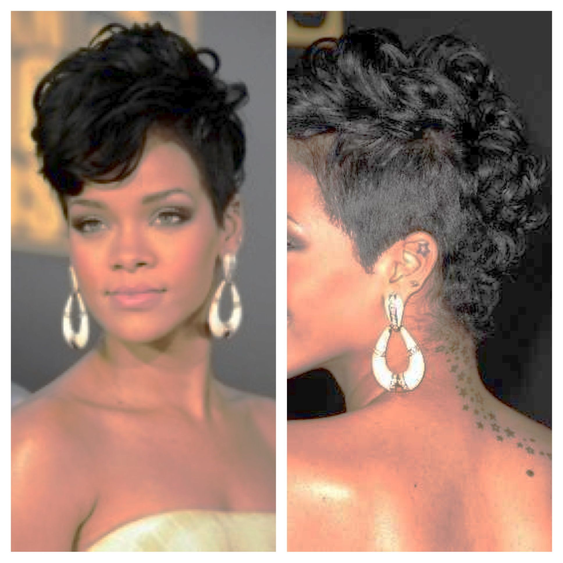 rihanna mohawk - google search | hair & makeup | pinterest