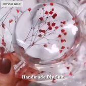 Photo of Handgefertigtes Kristallkleber-Formenset Verschiedene Formen von Formen können Ihnen beim Entwerfen helfen …