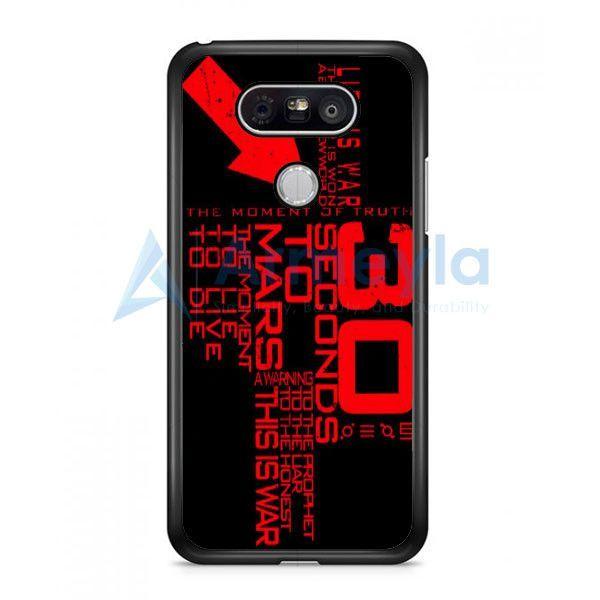 30 Second To Mars Quotes LG G5 Case | armeyla.com