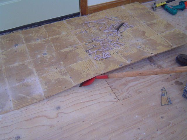 Removing Ceramic Tile Flooring Is A Tough Dirty And Potentially