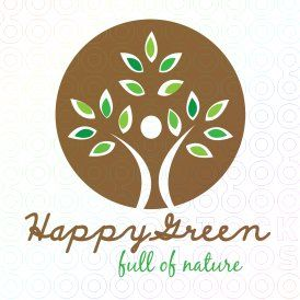 #Happy #Green logo