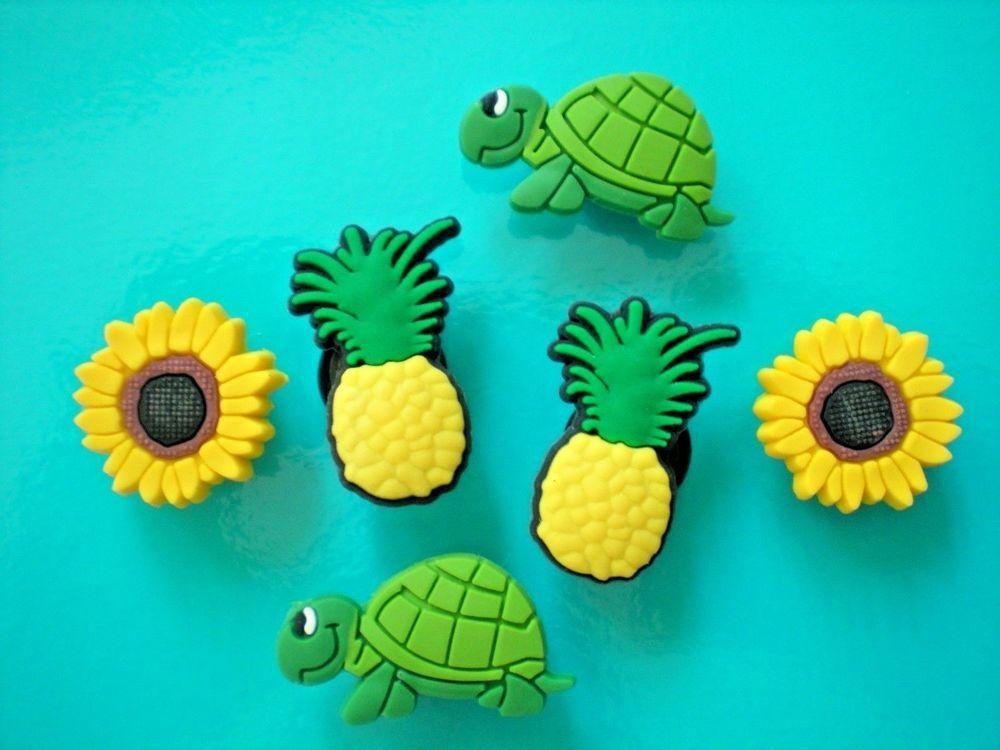 6 Animal Croc Shoe Charms Crocs Jibbitz Wristbands Charm