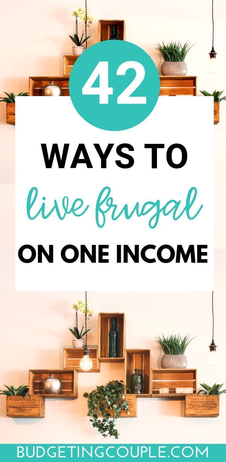 How To Live Frugally On One Income (or 2): 40+ Simple Tips #startsavingmoney Start saving thousands (even on one income) with these genius *yet easy* frugal tips and tricks. When you learn how to live frugal and live below your means you will start saving money on autopilot without feeling like it! Perfect if you're a frugal living beginner looking to get out of the paycheck to paycheck lifestyle today! Budgeting Couple | Budgeting Couple Blog | BudgetingCouple.com #frugal #save #frugalliving #startsavingmoney