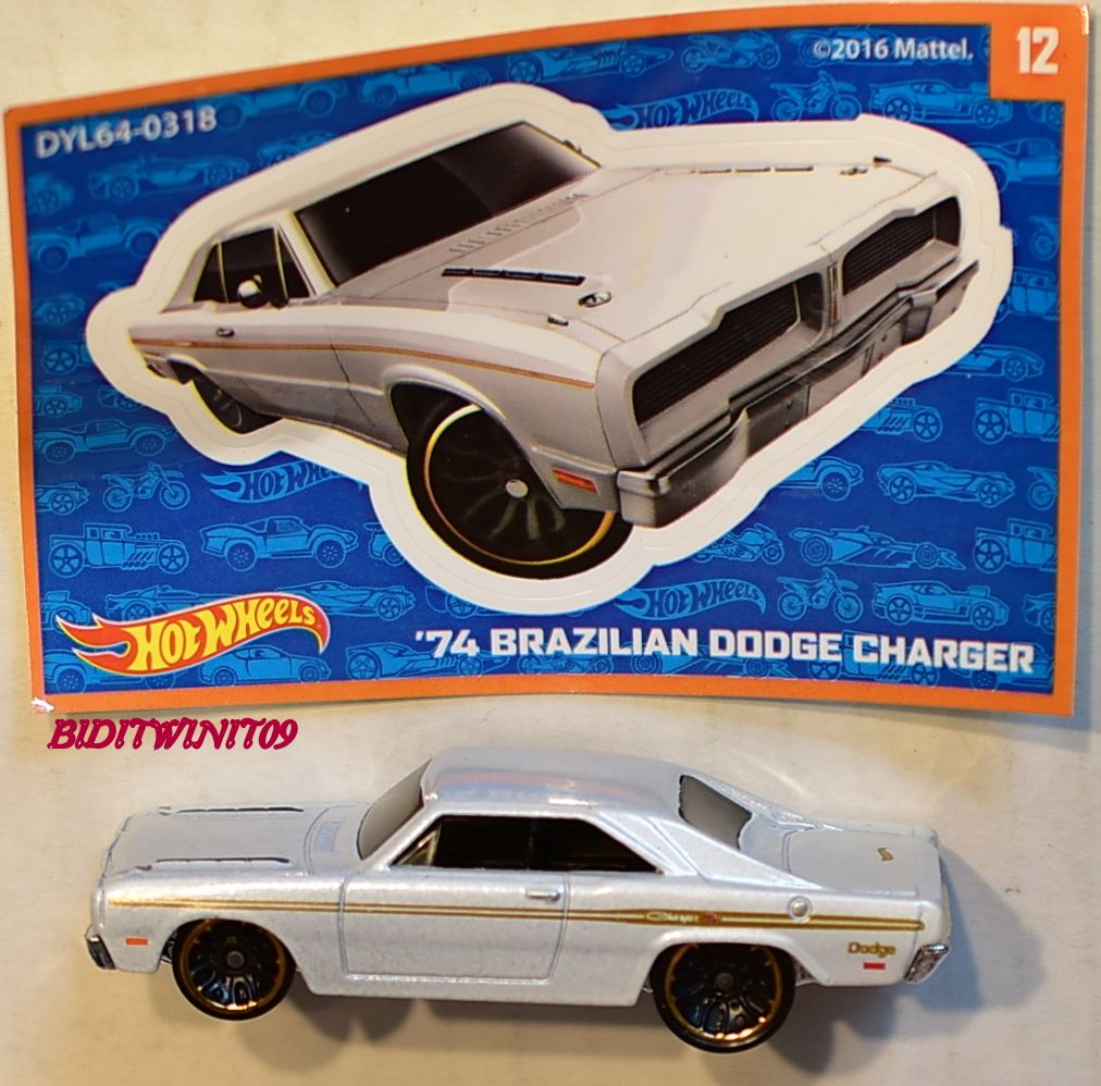 2017 Hot Wheels Mystery Models #12 /'74 Brazilian Dodge Charger