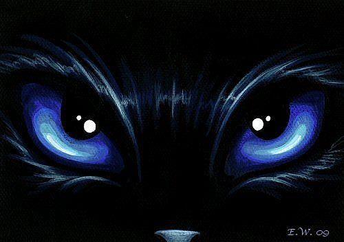 Piercing Eyes Black Canvas Paintings Art Painting Acrylic Simple Acrylic Paintings