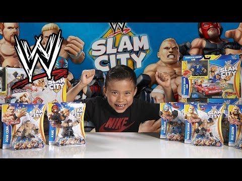 WWE SLAM CITY Battle Royal!! BIG SHOW, ALBERTO DEL RIO & Breakdown Assault Vault Unboxing/Review - YouTube