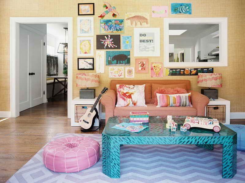 Bohemian Furniture Gallery Wall Art Kids Creations