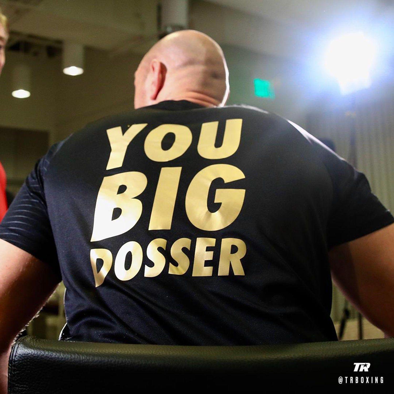 Tyson Fury Dosser Meme