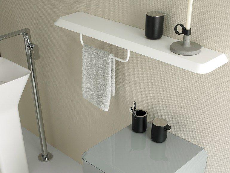 Porta asciugamani mensola bagno fluent mensola bagno inbani
