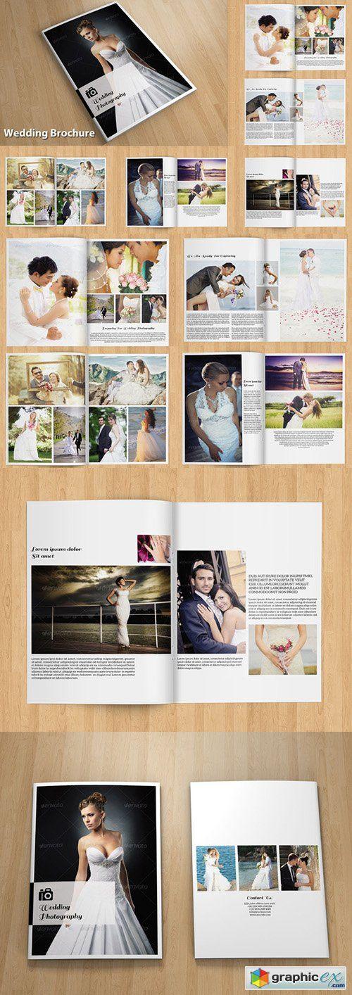 InDesign Wedding brochure Template Pinterest Brochures - wedding brochure template