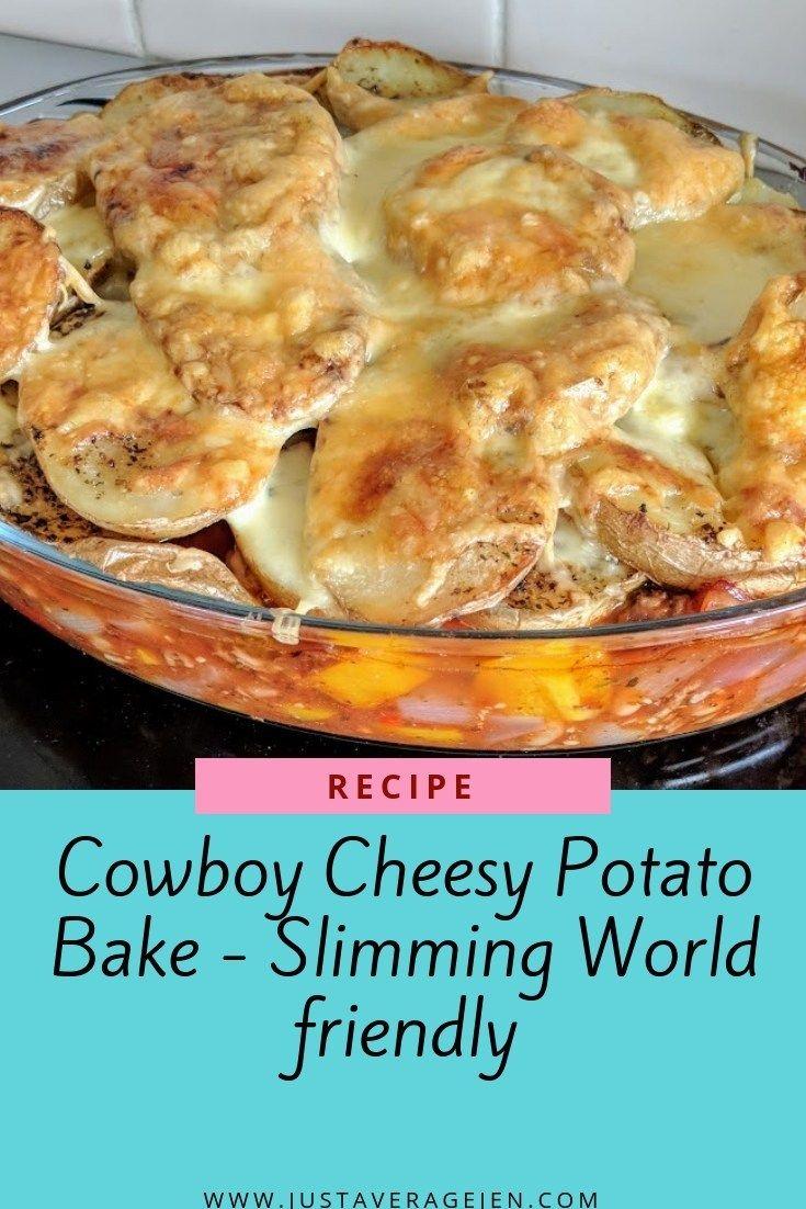 Cowboy Cheesy Potato Bake (Slimming World Friendly)
