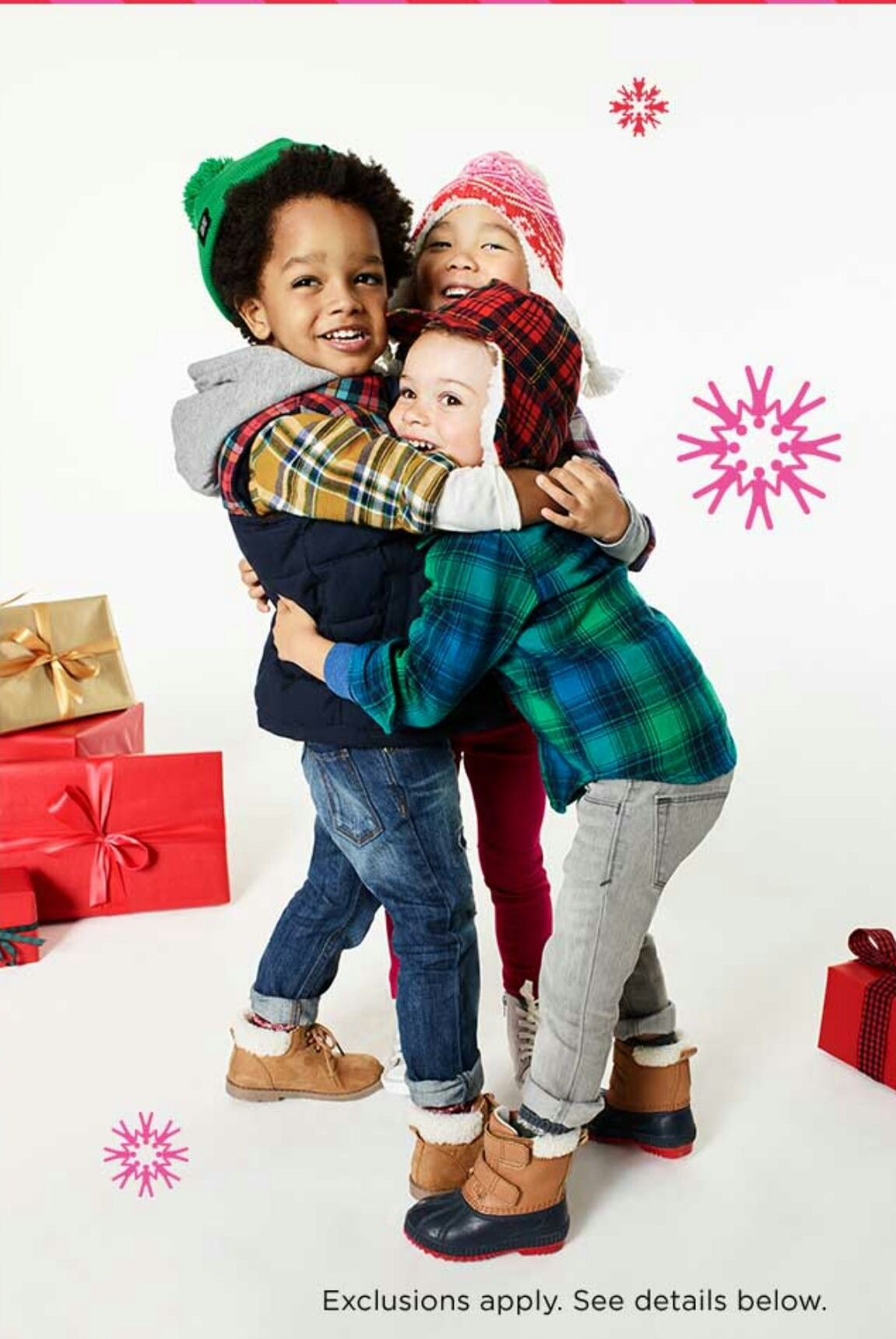 Old Navy Holiday 2016 email ad | Rhys Sawyer: Model/ Super Reader ...