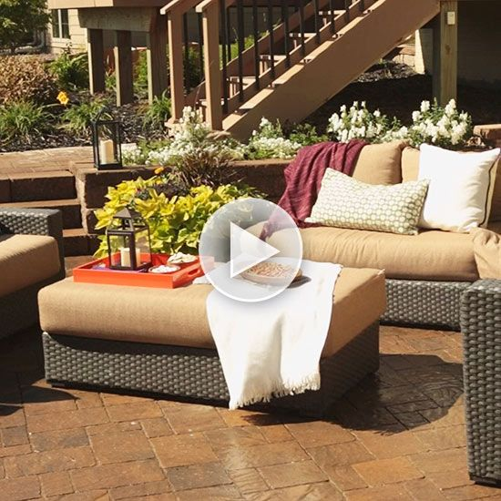 Watch backyard patio ideas in the better homes and gardens video how to make a container water - Better homes and gardens container gardening ...